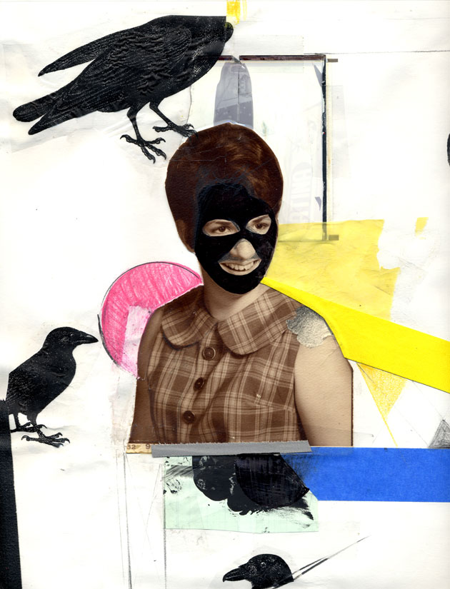 Untitled (Masked Crows)