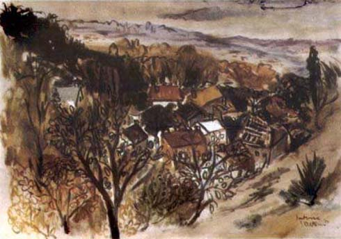Village in the Valley, Pontoise
