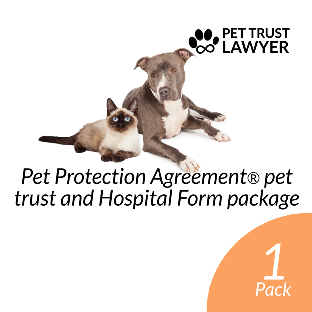 Pet Protection Agreement Pet Trust And Hospital Forms Package Pet