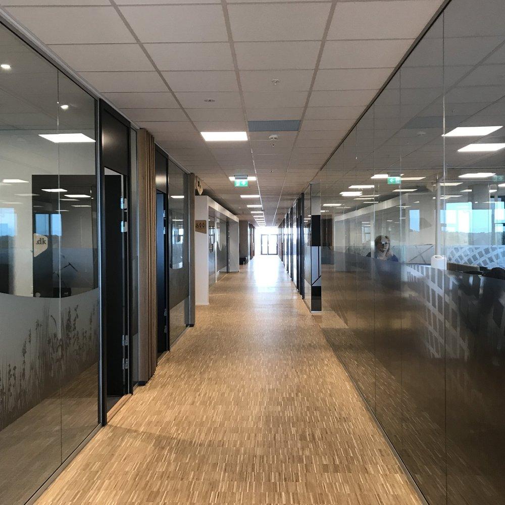 Nybygg for Brandsdal Eiendom på Mjåvann -