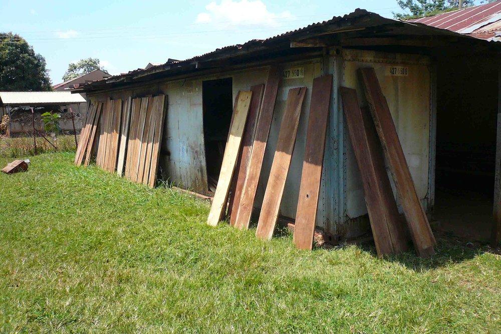 Drying Wood