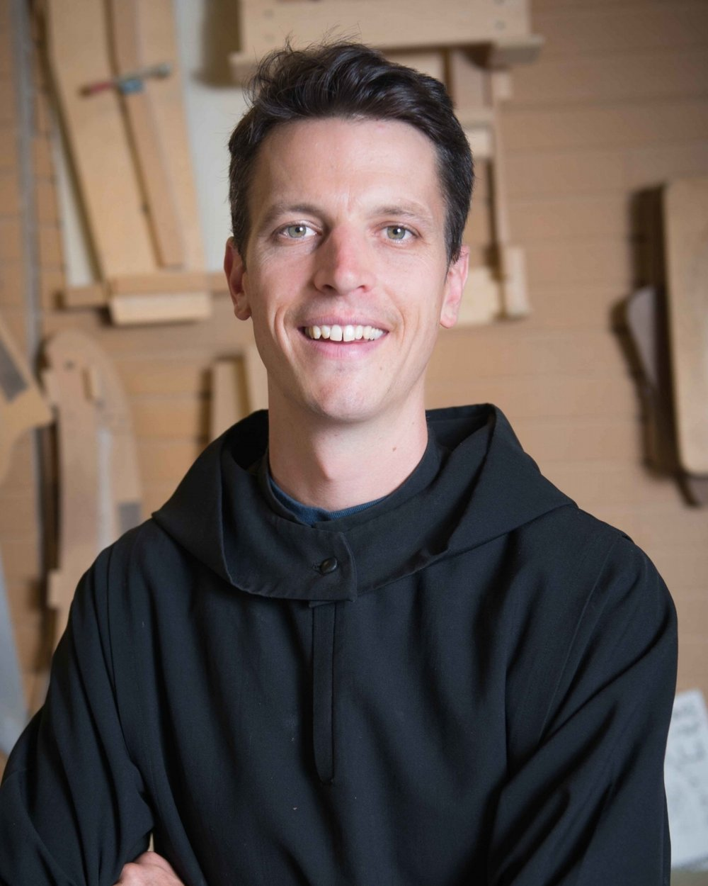 Fr. Lew Grobe, O.S.B. - Assistant Shop Manager