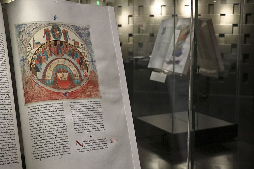 The Saint John's Bible Gallery - A space to experience the first handwritten, illuminated Bible commissioned by a Benedictine monastery in over 500 years.