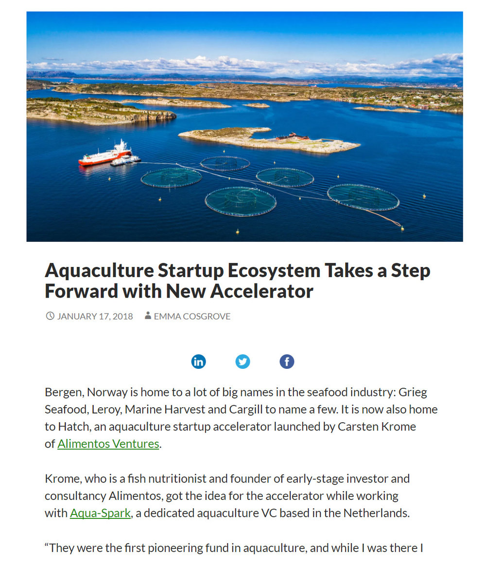 Article on AgfunderNews