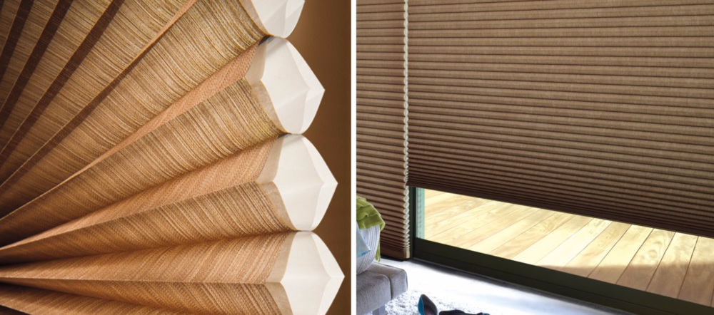 Duette - Our Duette® and Duette Architella® honeycomb shades keep your home warm in the winter and cool in the summer. An array of fabrics and a Vertiglide™ option for large windows and sliding doors make it the top-selling product in the industry.