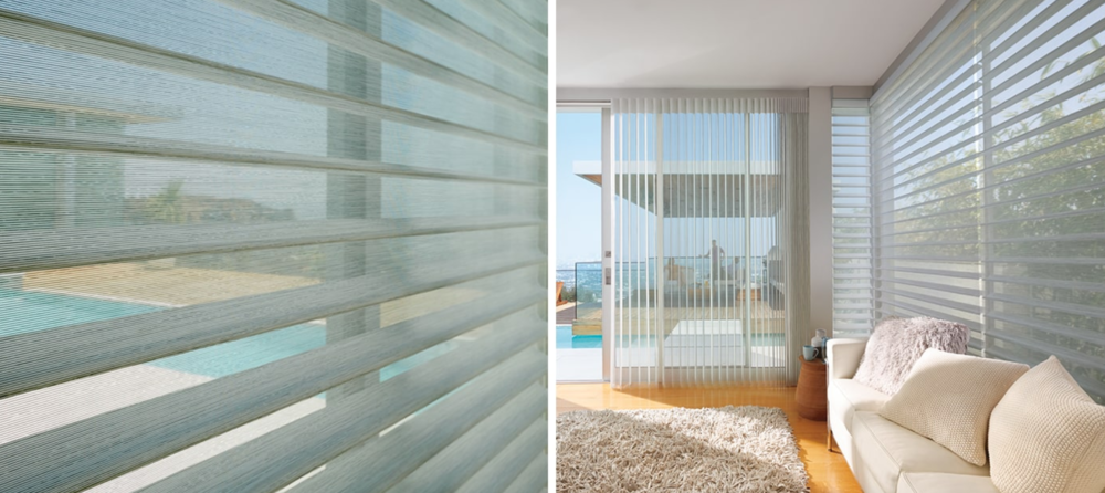 Silhouette - Transform the sunlight through your windows with our Silhouette® and The Alustra® Collection of Silhouette® shadings. Perfectly illuminate your surroundings by diffusing harsh sunlight and dispersing it evenly throughout your room.