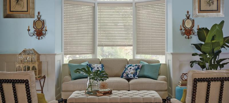 Parkland ®  Wirebrushed Wood Blinds
