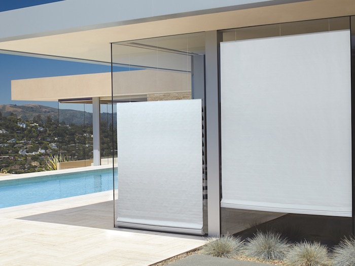 Vignette® Modern Roman Shades with Liner Outside