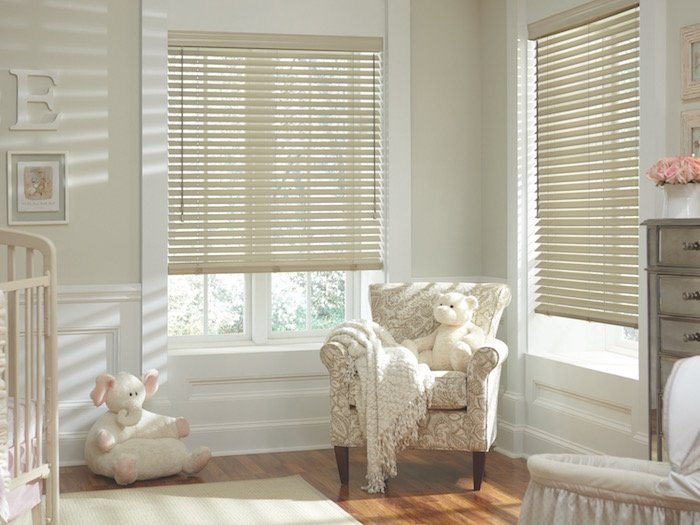 Parkland™ Classics™ Wood Blinds with LiteRise®