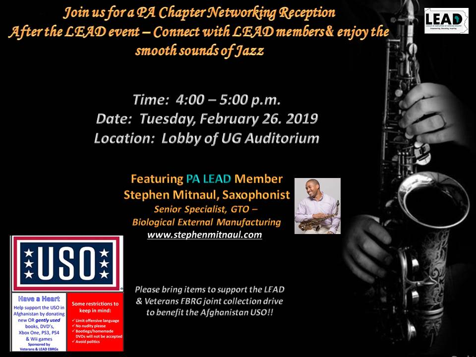 LEAD's Black History Event — Stephen Mitnaul