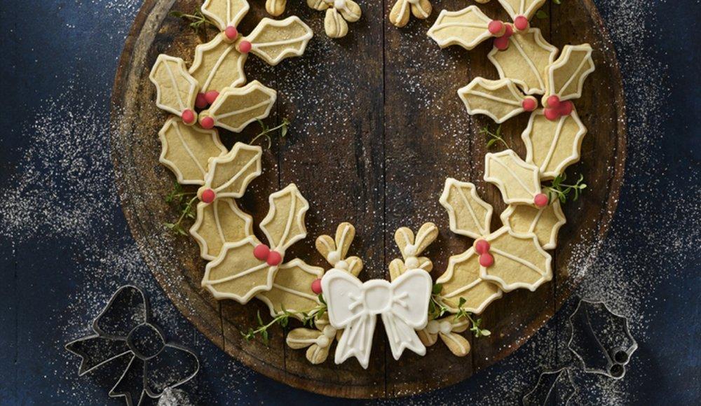 Lakeland cookie wreath demo