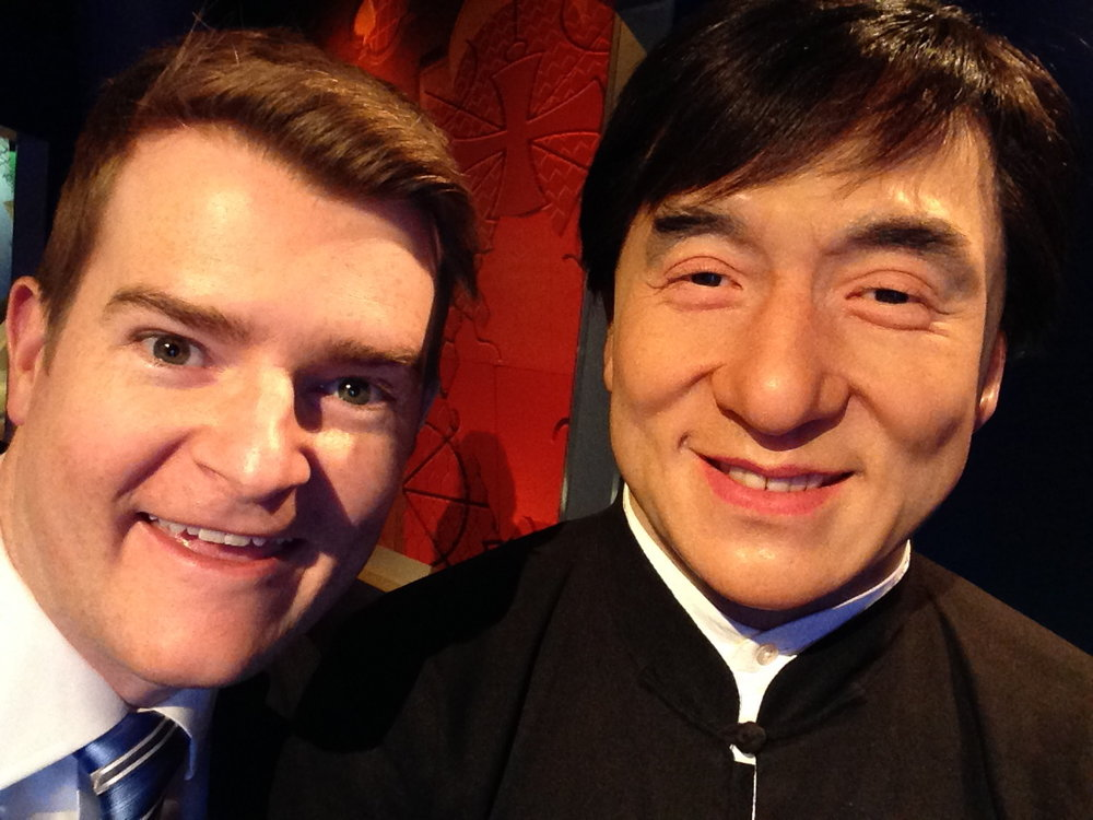 Would you believe that I met Canadian icon Jackie Chan in a bar fight? Here were are years later, the best of friends.
