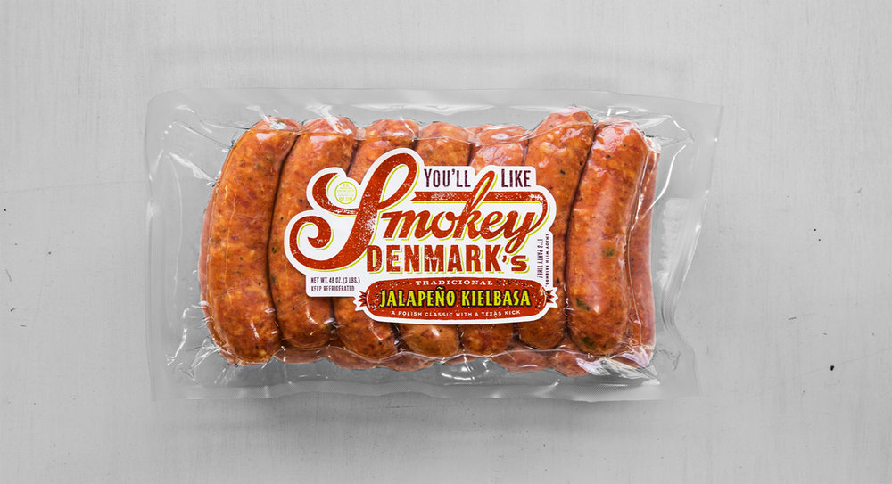JalepeÑo Kielbasa  A Polish classic with a Texas kick. The best thing you'll eat all week.