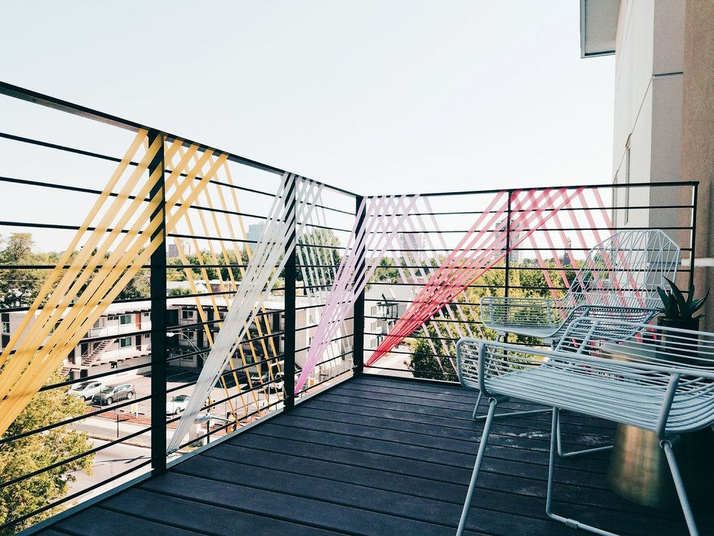 Balcony Installation - Macher Studio - Denver