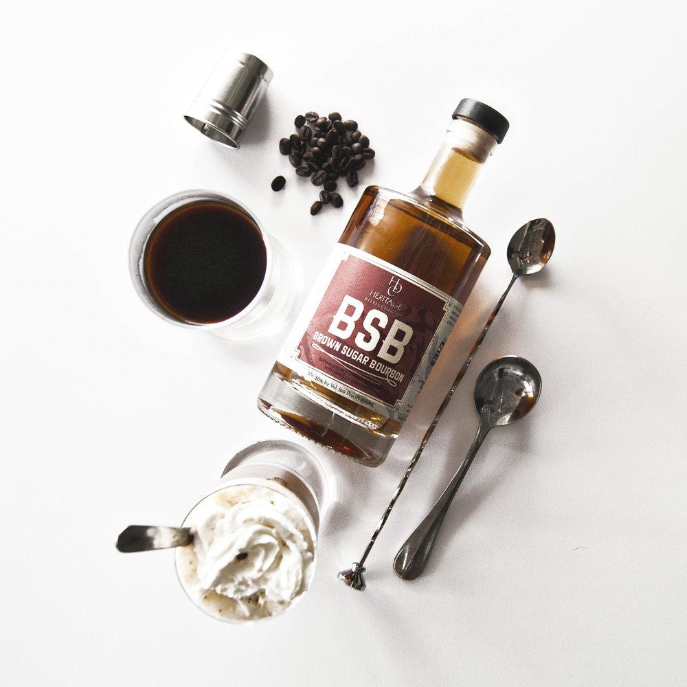 Modern Irish Coffee Cocktail - Macher Studio