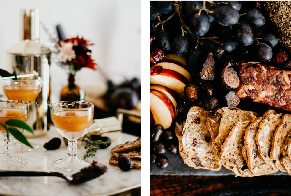 Modern Halloween Cocktail Party