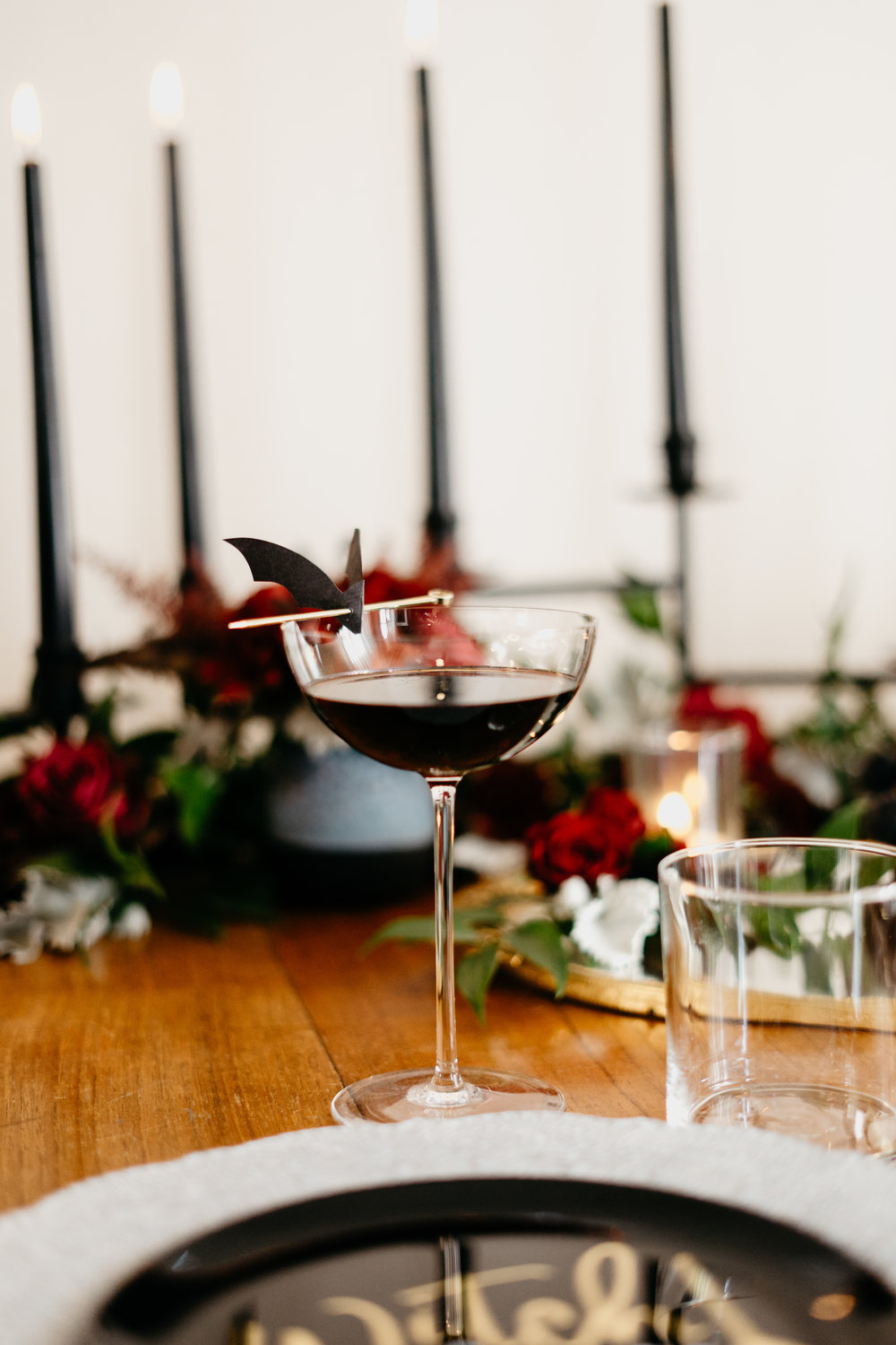 Red Wine and Coffee Cocktail