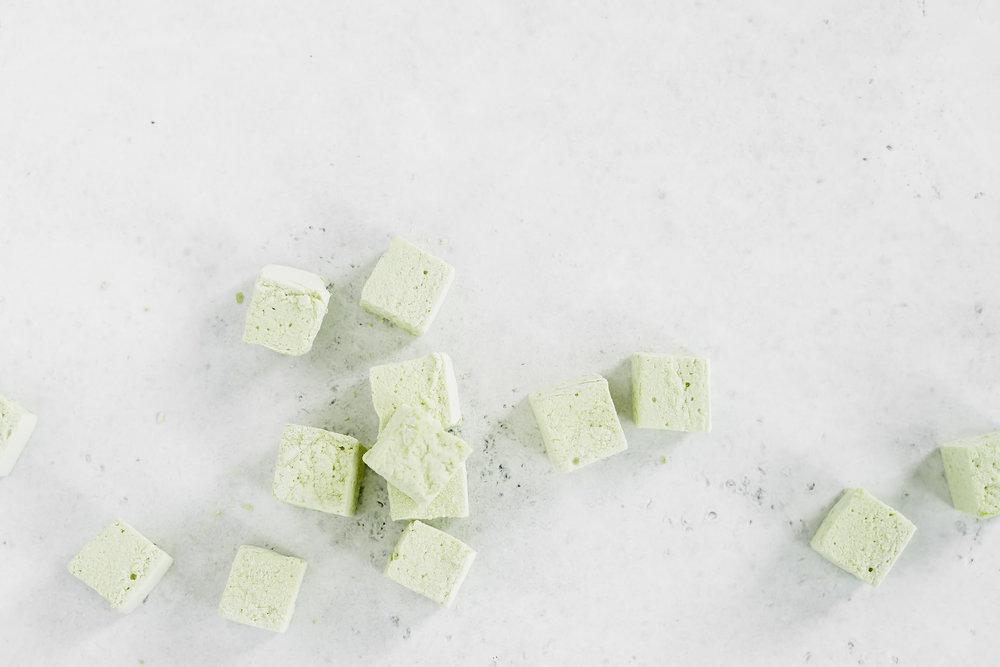 Matcha Marshmellows