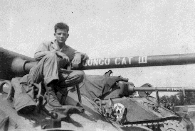 Andy Carpenter, WWII Carley.jpg