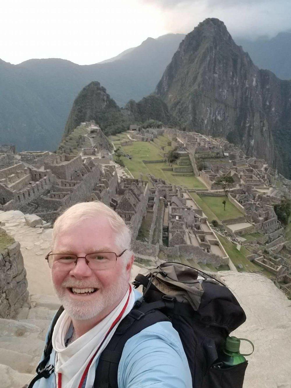 Stuart Brady, traveler in Peru.