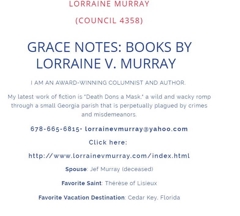 Grace Notes by Lorraine Murray