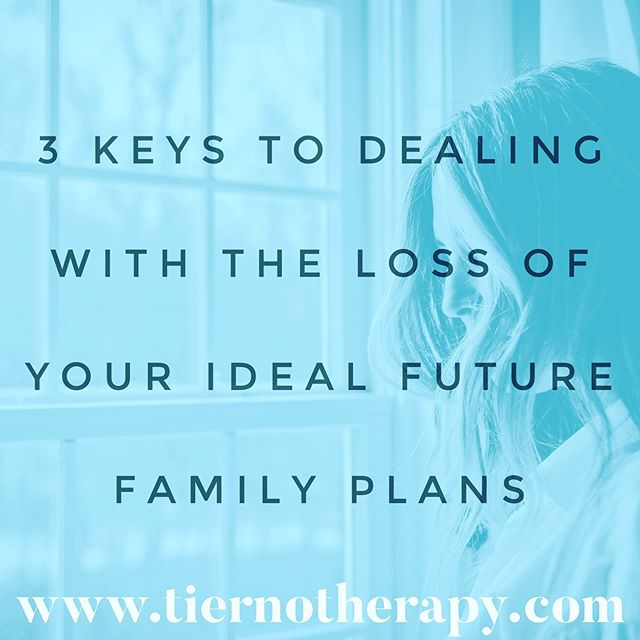 One of the hardest parts of #infertility can be letting go of that ideal future family picture you've imagined for so long. It is a #loss of an intangible, the loss of a potential that will never be realized, and it is so very painful. Click the link in my bio to read my latest blog about #coping with the loss of your ideal future family plans. ・・・ #fertility #fertilityjourney #ivfjourney #ivf #ivfsuccess #ivfsupport #ivfcommunity #ttc #ttccommunity #ttcjourney #iui #iuisuccess #iuijourney  #gaydads #lesbianmoms #lgbtq #lgbtqfamily #transparents #surrogacy #therapy #psychotherapy #psychology #louisvilleco #louisvillecolorado #boulder #bouldercolorado #bouldercounty