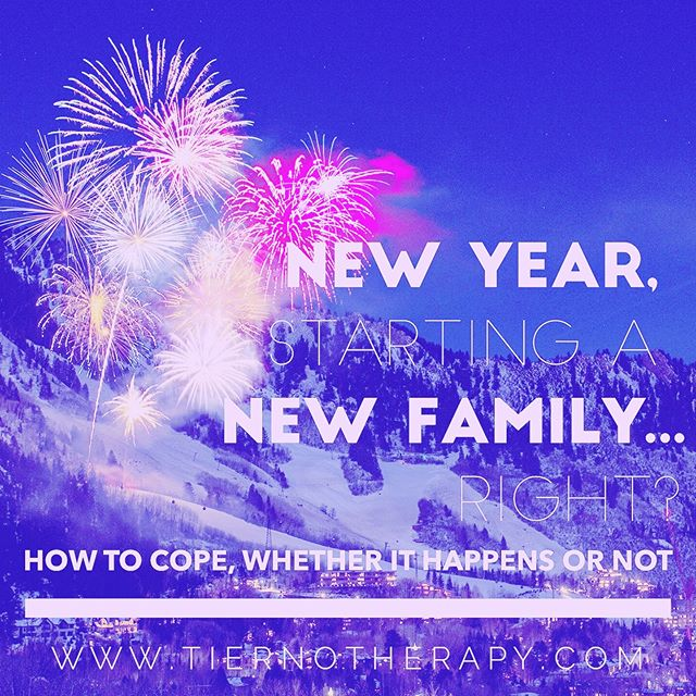 It's that time of year when everything feels like an opportunity for a fresh start. There is new hope everywhere you turn. But can you make a New Year's Resolution to make this be the year you successfully build your family? Click the link in my bio to read my latest blog about how to cope–whether it happens or not. ・・・ #fertility #infertility #fertilityjourney #ivfjourney #ivf #ivfsuccess #ivfsupport #ivfcommunity #ttc #ttccommunity #ttcjourney #iui #iuisuccess #iuijourney  #gaydads #lesbianmoms #lgbtq #lgbtqfamily #transparents #surrogacy #therapy #psychotherapy #psychology #louisvilleco #louisvillecolorado #boulder #bouldercolorado #bouldercounty