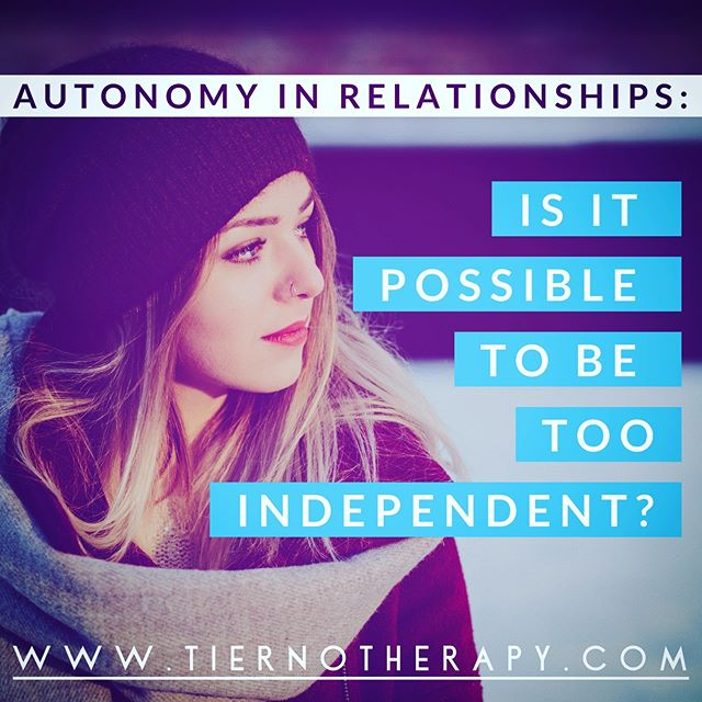 You are not the sort to wait around for some mythical prince or princess in shining armor to take care of you; you are perfectly capable of handling everything yourself, thankyouverymuch! But as you navigate the #dating world in search of a healthy, sustainable #relationship, is it ever possible to be *too* #independent? How can you differentiate between healthy independence and self-sufficiency versus an inability to let people in? Click the link in my bio for my latest blog. ・・・ #relationshipgoals #datingadvice #datingcoach #datingsucks #datingproblems #datingonline #datingafterdivorce #divorce #relationshipadvice #datinggoals #datinginyour30s #datingover40 #strongwomen #womeninstem #womeninbiz #powerwomen #sevensisters #womenintech #ivyleague  #therapy #psychotherapy #psychoanalysis #louisvilleco #louisvillecolorado #boulder #bouldercolorado #bouldercounty