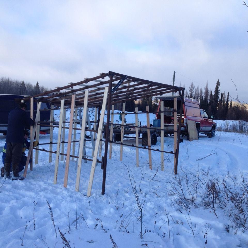 Building warm up shack.jpg