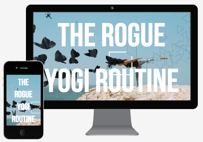 The Rogue Yogi Routine, Signature Course, Master Course, Yoga for Beginners