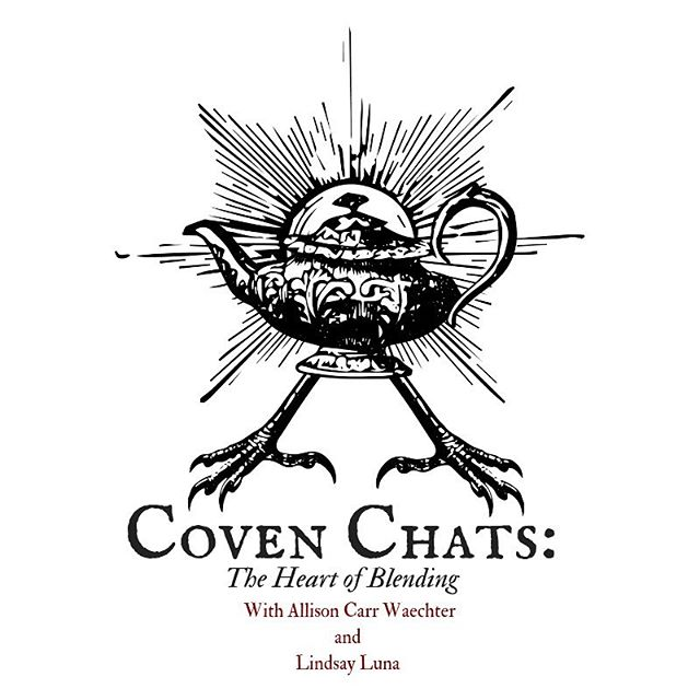 "Join us today, in a little #teaatthree for a Coven Chat. In the next few months @acwaechter will be conducting some video interviews with fellow creative witches who want to talk about the shadow aspects of creative life. Today one of our founding members, @hagfoot (formerly of Altar and Leaf Apotheca, now of @gatheratthestudio) tells us the story of how her successful tea business ended last year, the way words can crush us we when have creative wounds, and we come full circle on how we tell our stories. 🌑Never fear, darklings, Coven Chats are not meant as shadow work ""inspo"" — nor are we here to give advice, but rather to sit where we are, in solidarity with one another, so we can hear each other's tales. Pour a cuppa and come sit for a spell. Link in our bio. #wyrdandwyse #heartwork #shadowseason #witchwork #soulwork #witchesofinstagram #theheartofblending #teastories #talesfromtheteapot #witchtober #witchythings #witchlife #witchstagram"