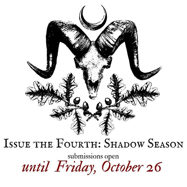 Hello, darklings. Just a little reminder that we are accepting submissions for Issue the Fourth, which will be our last print issue of the year now! Travel over to our submissions guidelines on our website for more about what we're looking for. We'd love to hear from you. #wyrdandwyse #zinelife #witchesofinstagram #creativenonfiction #fairytaleretelling #hybridfairytales #wyrdandwysemagazine #wyrdandwysezine #amwriting #opensubmissions #callforartists #callforart #callforwriters #poetsofinstagram #writersofinstagram #creativenonfiction #witchyzine #witchywriters #litmag #literarymagazine #indiepub #smallpress #witchwork
