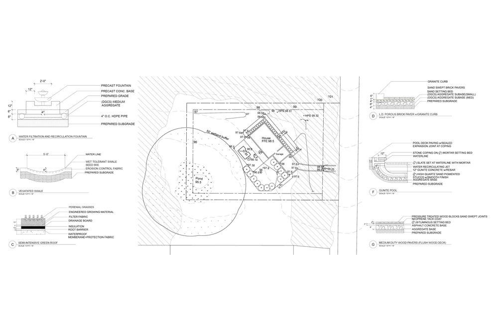 Construction Documents Sam Packer – Site Grading Plan