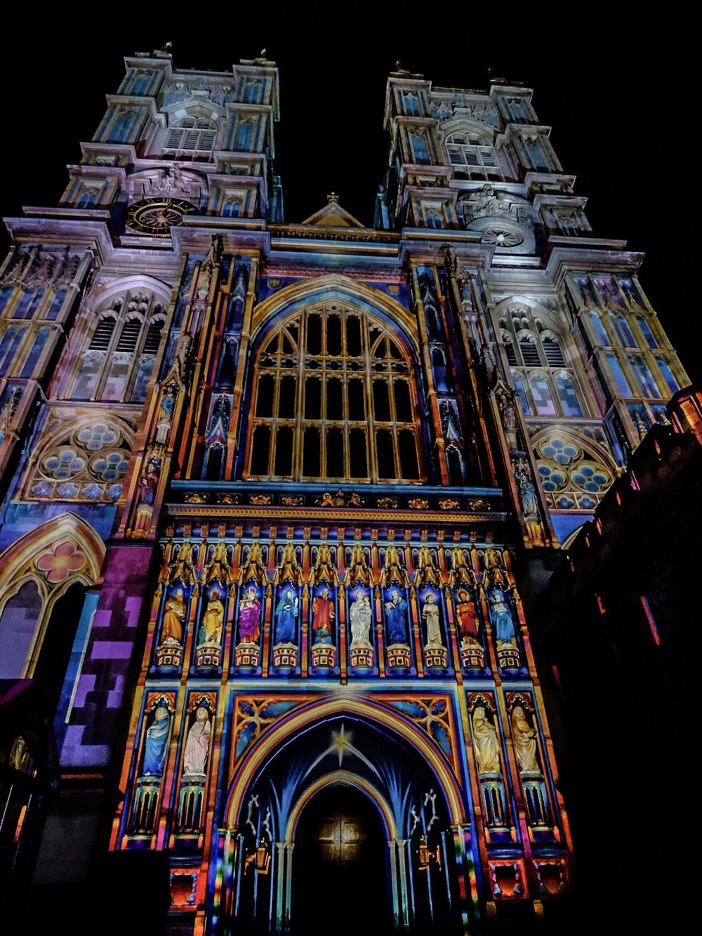 The stunning Westminster Abbey