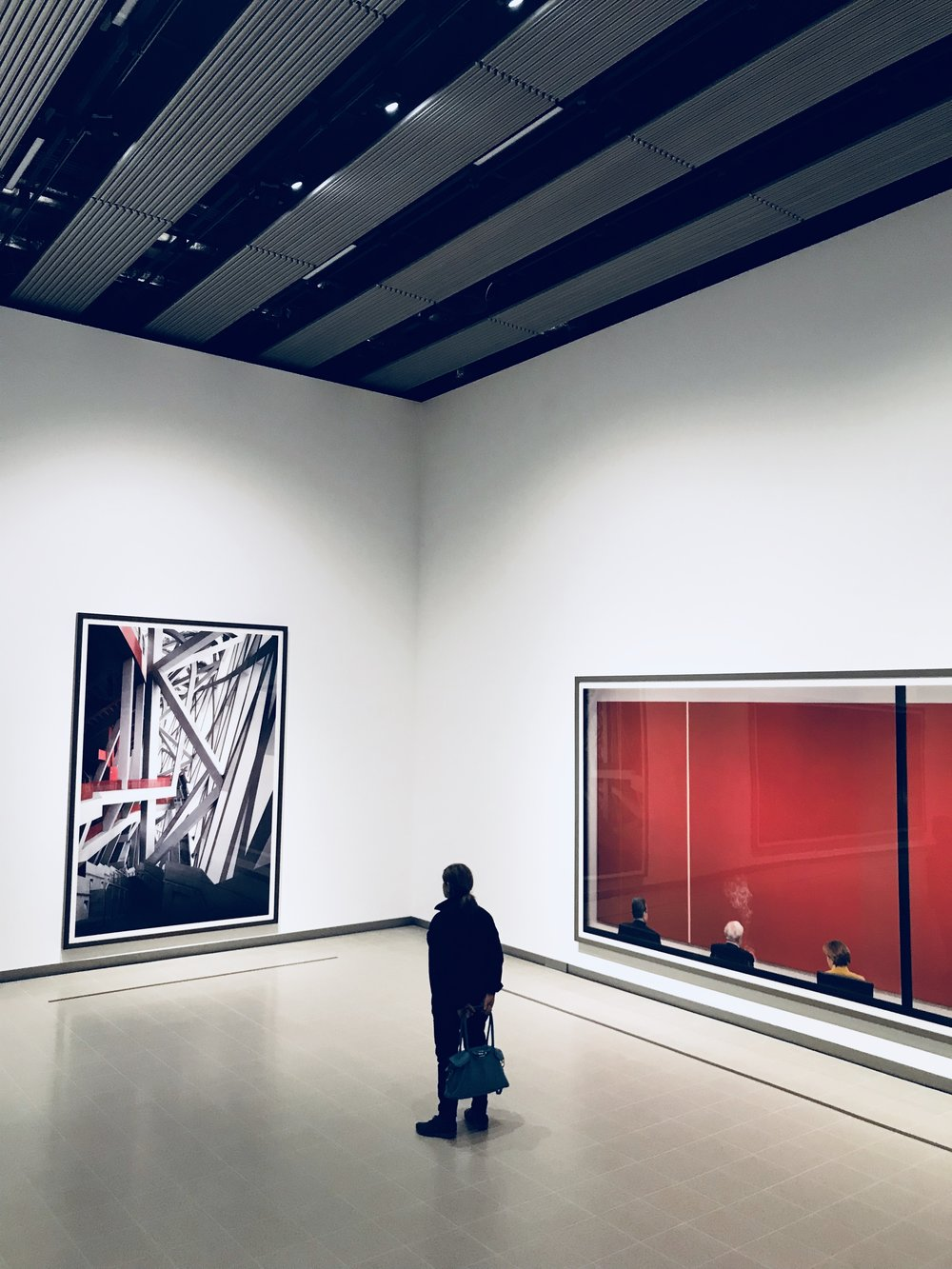 The space at the gallery is superb making images pop, the grandeur of the exhibits in this huge area is rather mesmerising