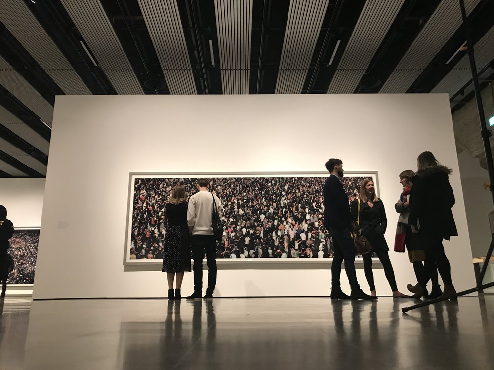 The viewers - in summary some good photographs the gallery itself superb