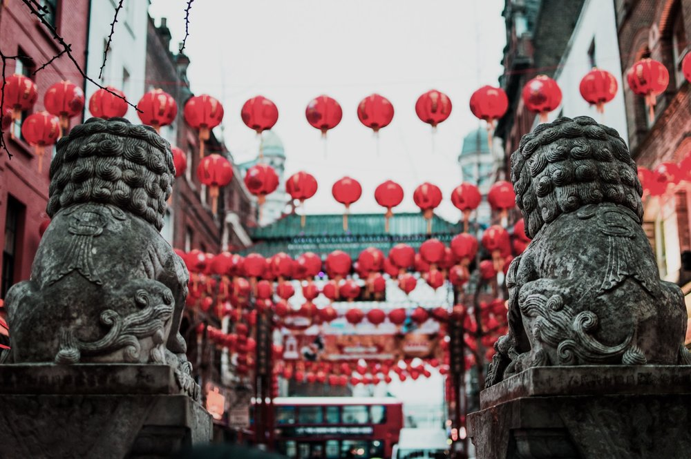 Chinatown always looks great all year round, but for the New Year celebrations, the year of the dog, everything comes alive.