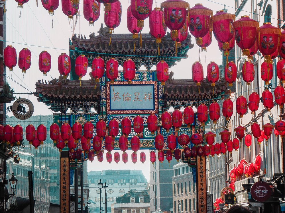 I adore when London gets cultural if it was up to me there would be something cultural every week, the new lanterns to celebrate the year of the dog