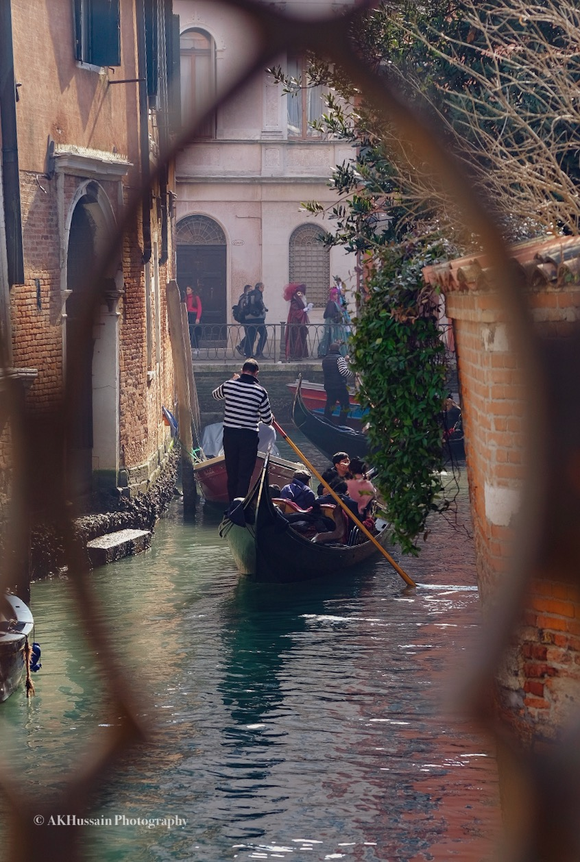 What Venice is all about, romance and gondolas -