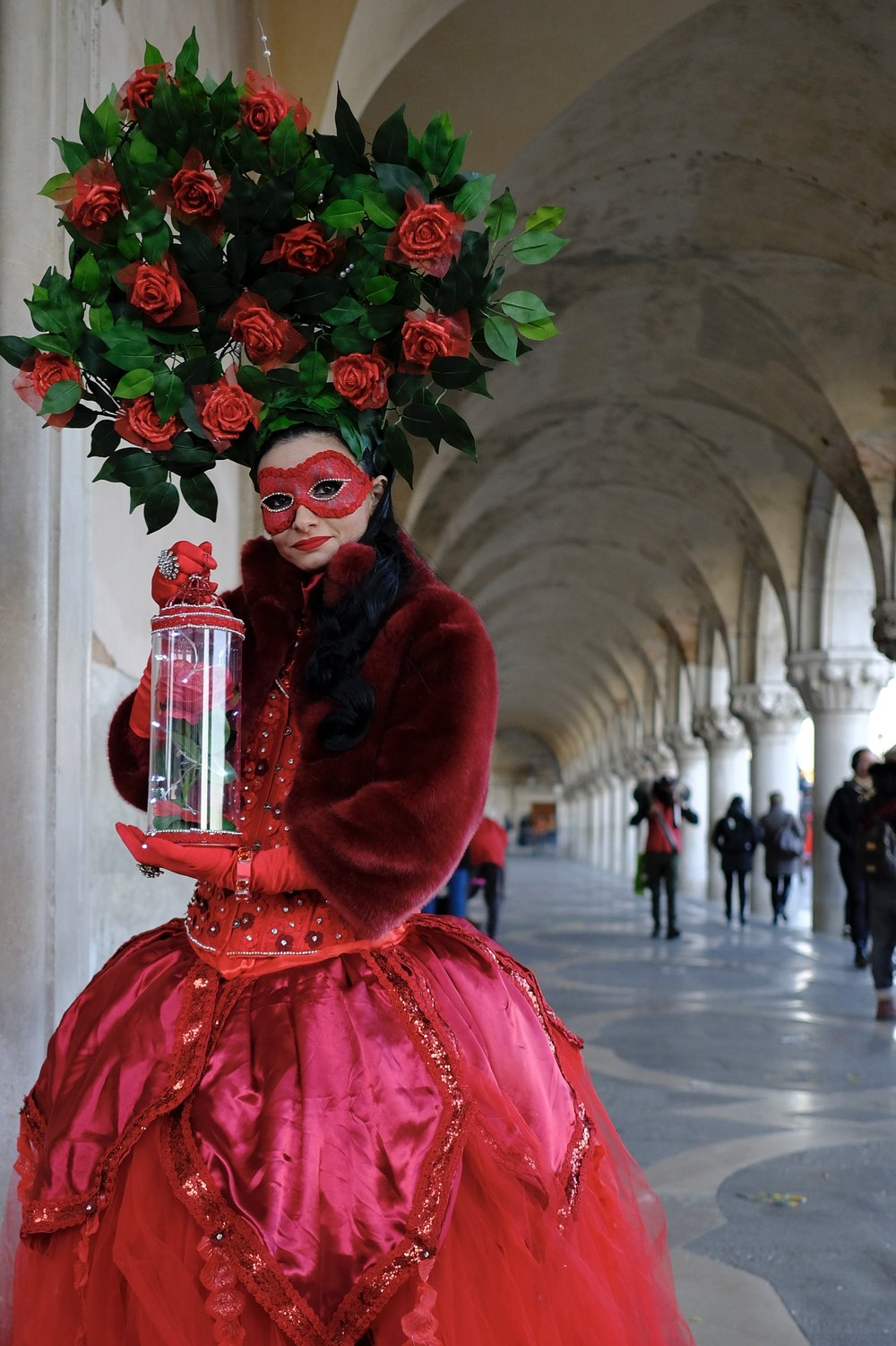 Dramatic costumes with stunning architecture -