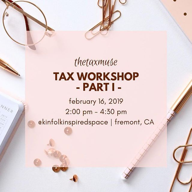 🌸We are so excited to host @thetaxmuse again for a brand new TAX WORKSHOP! This is one of the most informative and engaging workshop for creative small businesses. Please head over to @thetaxmuse to reserve your spot! Space is limited so book your ticket soon. ✨🎉