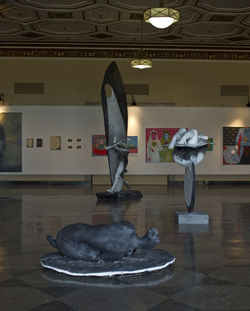 "Installation view of ""Nocturnes"""