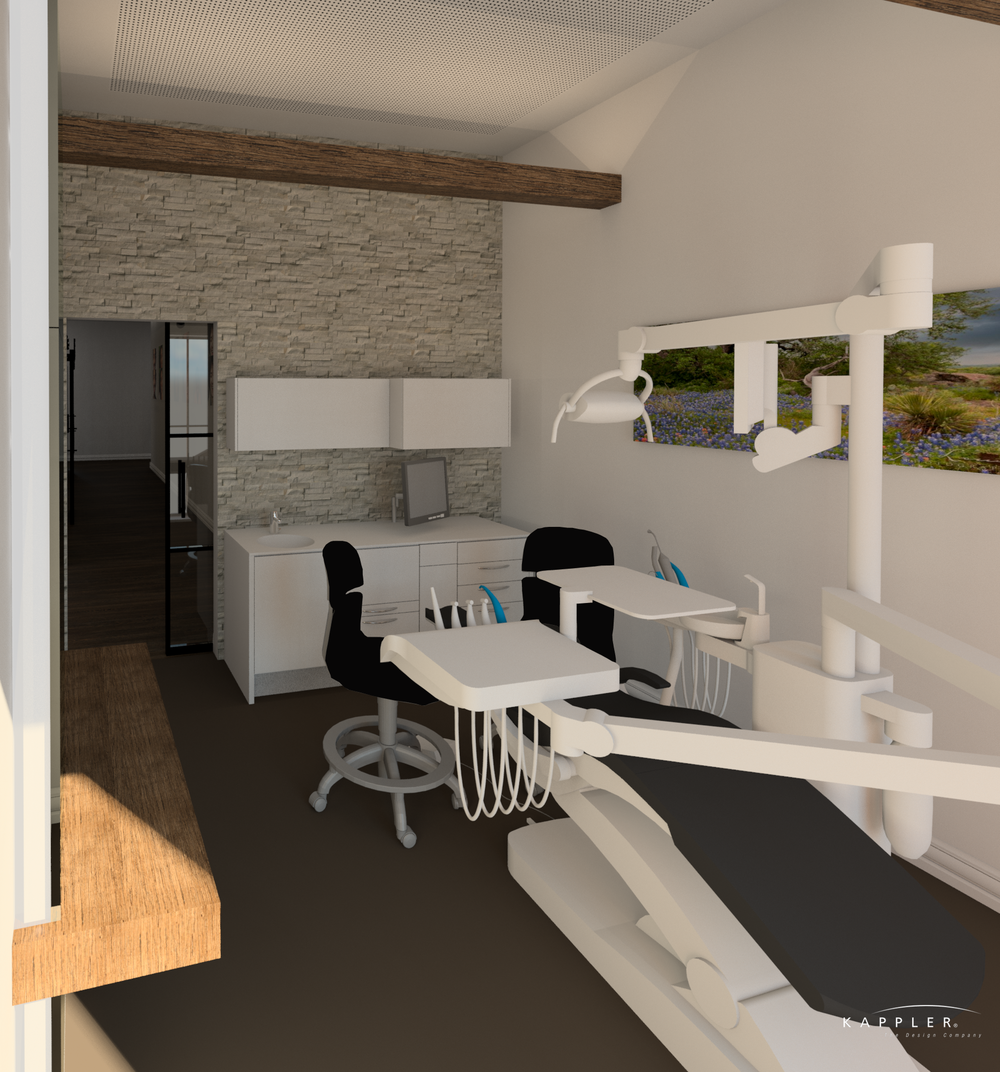 traditional dental operating room design concept