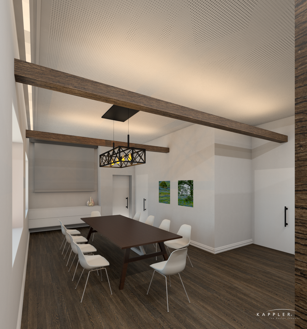 traditional conference room design concept