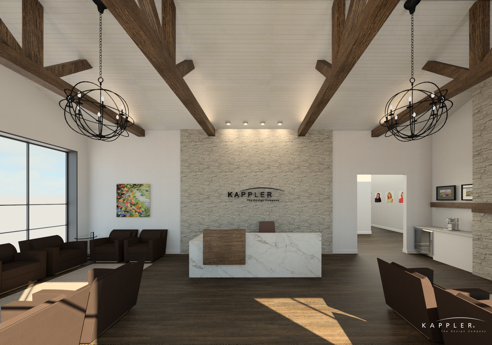 texas dental office design welcome area