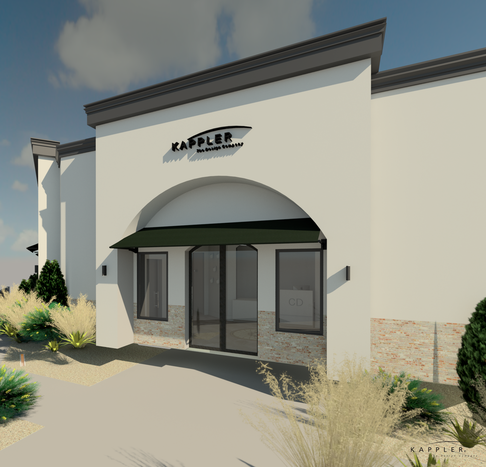 Texas dental office design exterior