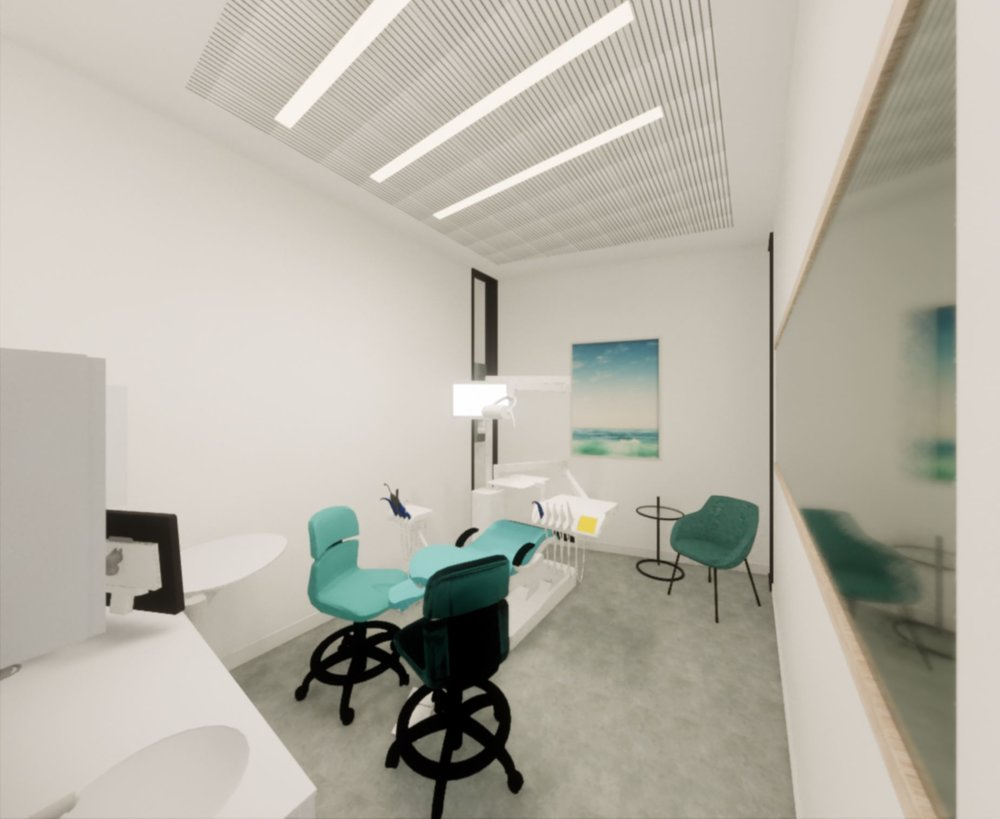 modern dental office operating room in san francisco