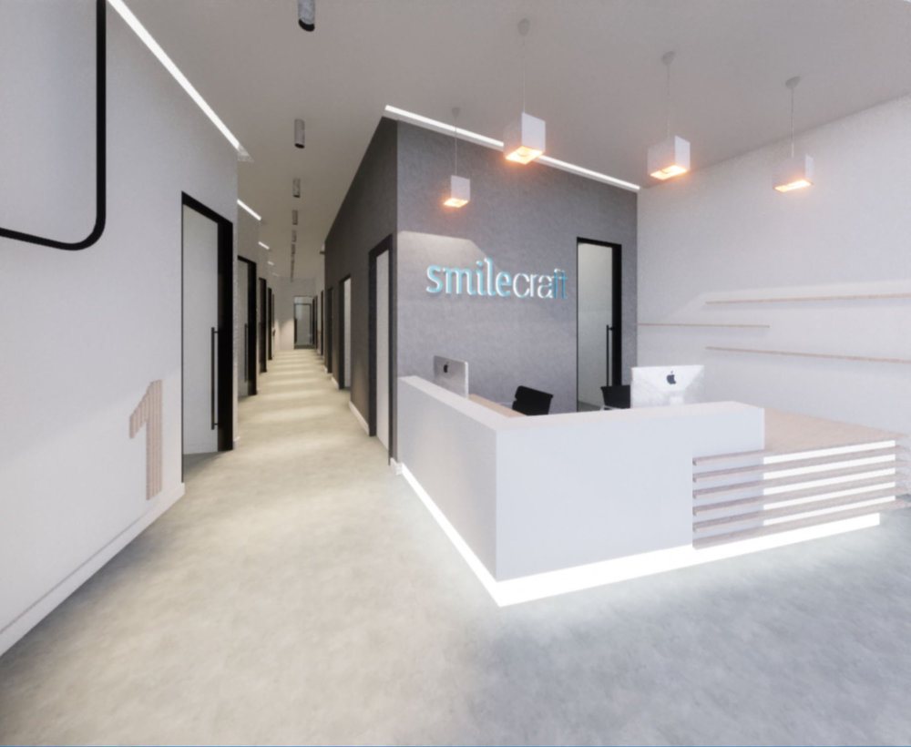 san francisco dental office reception area design