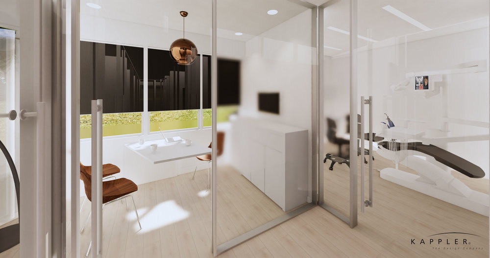 modern nordic dental consultation office design