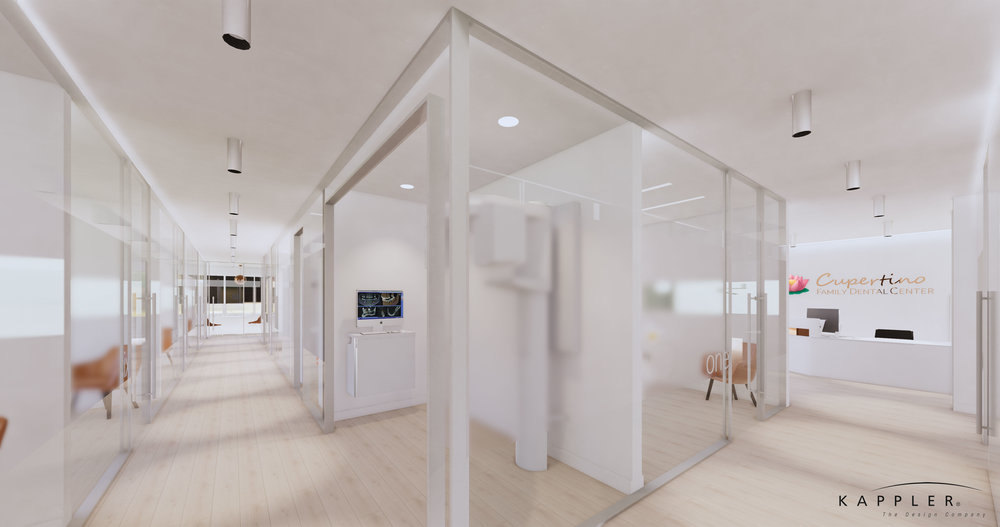 modern nordic design dental office in california